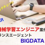AI・機械学習エンジニア案件特化型フリーランスエージェントBIGDATA NAVI