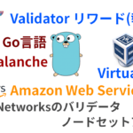 Flare Networksのノードのセットアップとバリデータ